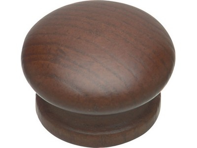 KNOB 50MM TINTED BROWN