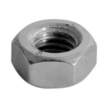 BZP Metric Coarse Hex Full Nuts Steel DIN 934