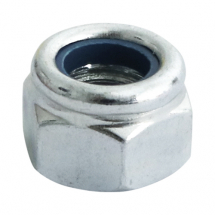"BZP Nylon Insert Nuts Type ""T"" Thin Type DIN 985"