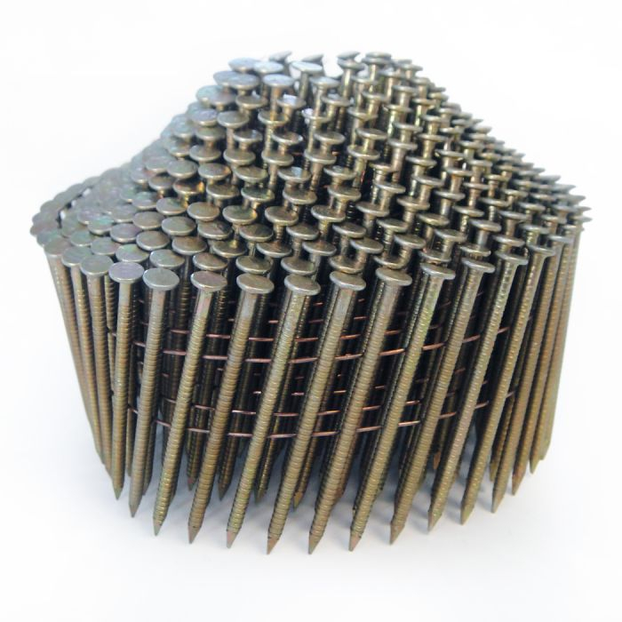 Galvanised Collated Coil Nails
