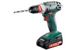 Metabo Quick Drill Driver 18V 2x2.0Ah Batt SC60 Charger Case