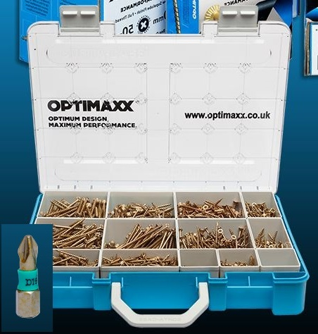 Optimaxx Challenge Pack Standard inc.Case + PZ2 Bits
