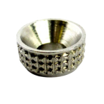 4.0 (8g) Nickel Plated Turned Screw Cups
