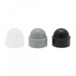 M12 White Plastic Bolt Caps