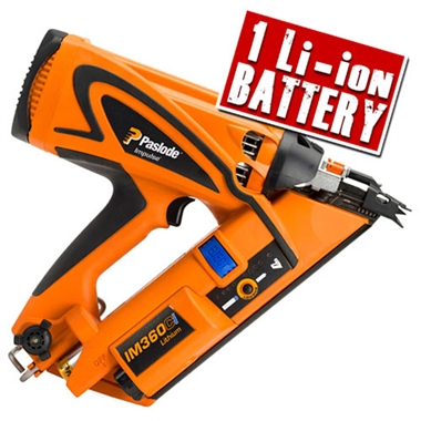 IM360Ci Lith Paslode Cordless Impulse 1st Fix Strip Nailer