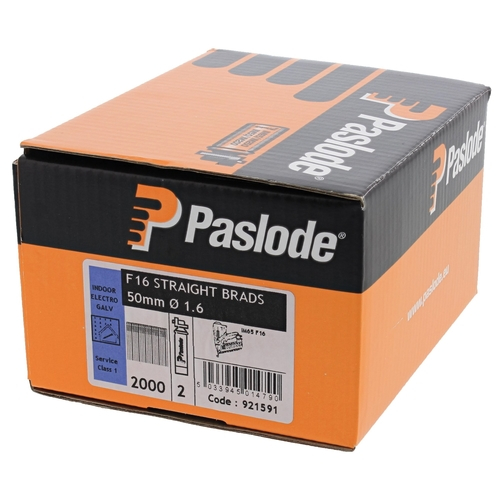 F16x38 921594 Paslode Brad Packs Stainless