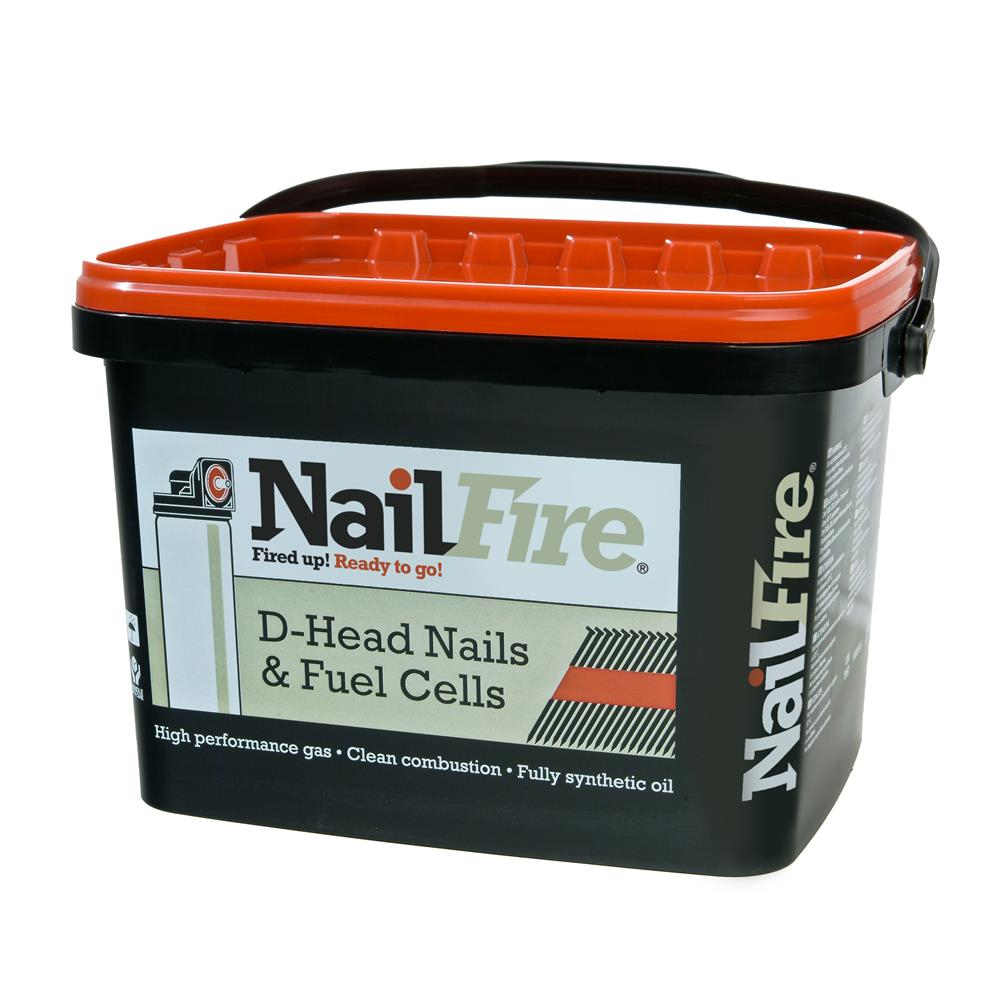 90x3.1 Nailfire Galv Smooth Shank Nails 2000