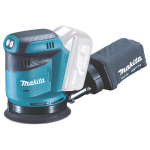 Makita 18v LXT Li ion Cordless Orbital Sander 125mm Body Only