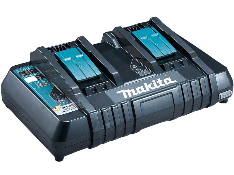Makita 14.4-18V LXT Twin Port Battery Charger