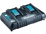 Makita 14.4-18V LXT Twin Port Battery Charger (240v)