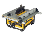 DW745RS 240 Volt Portable Site Saw + DE7400 stand
