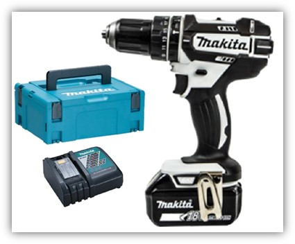 Makita 18v Combi Cordless 1 x 4.0ah Battery