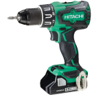 Hitachi 18v Brushless Combi Drill (2x3.0Ah Li Batteries)