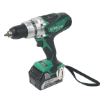 Hitachi 18v Li Combi Drill (2x5.0Ah Batteries)