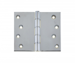 76x75mm Polished Brass DPBW Projection Hinge c/w Screws