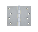 76x75mm Satin Chrome DPBW Projection Hinge c/w Screws
