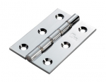 76x50x2.5mm DSSW Butt Hinge Chrome Plated