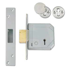CHUBB 67mm SC 5 Lever BS3621 Mortice Deadlock