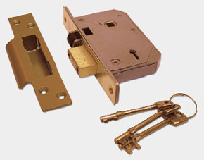 CHUBB 67mm PL 5 Lever BS3621 Mortice Sashlock