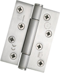 102x125mm Concealed Bearing Hinge Class 14 SSS Sq Corners