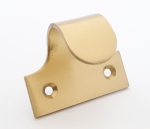 Pressed Hook Sash Lift Satin Brass