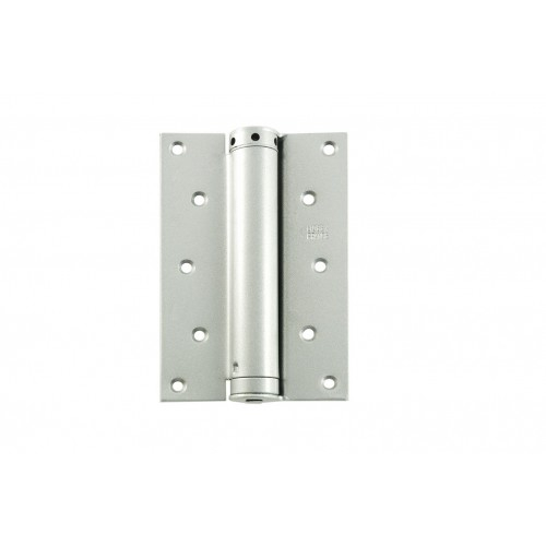 125mm Liobex D/A spring hinge Silver 25-35mm door 25kg