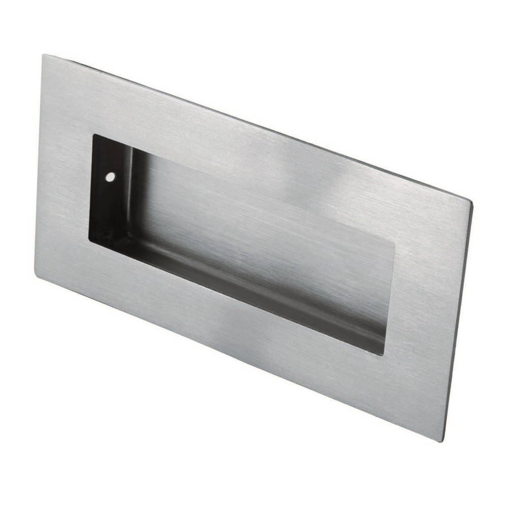 Flush Pull - Rectangular 100mm x 50mm