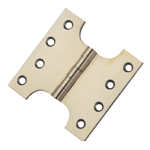 Polished Brass Parliament Hinges 102x51x102x4mm