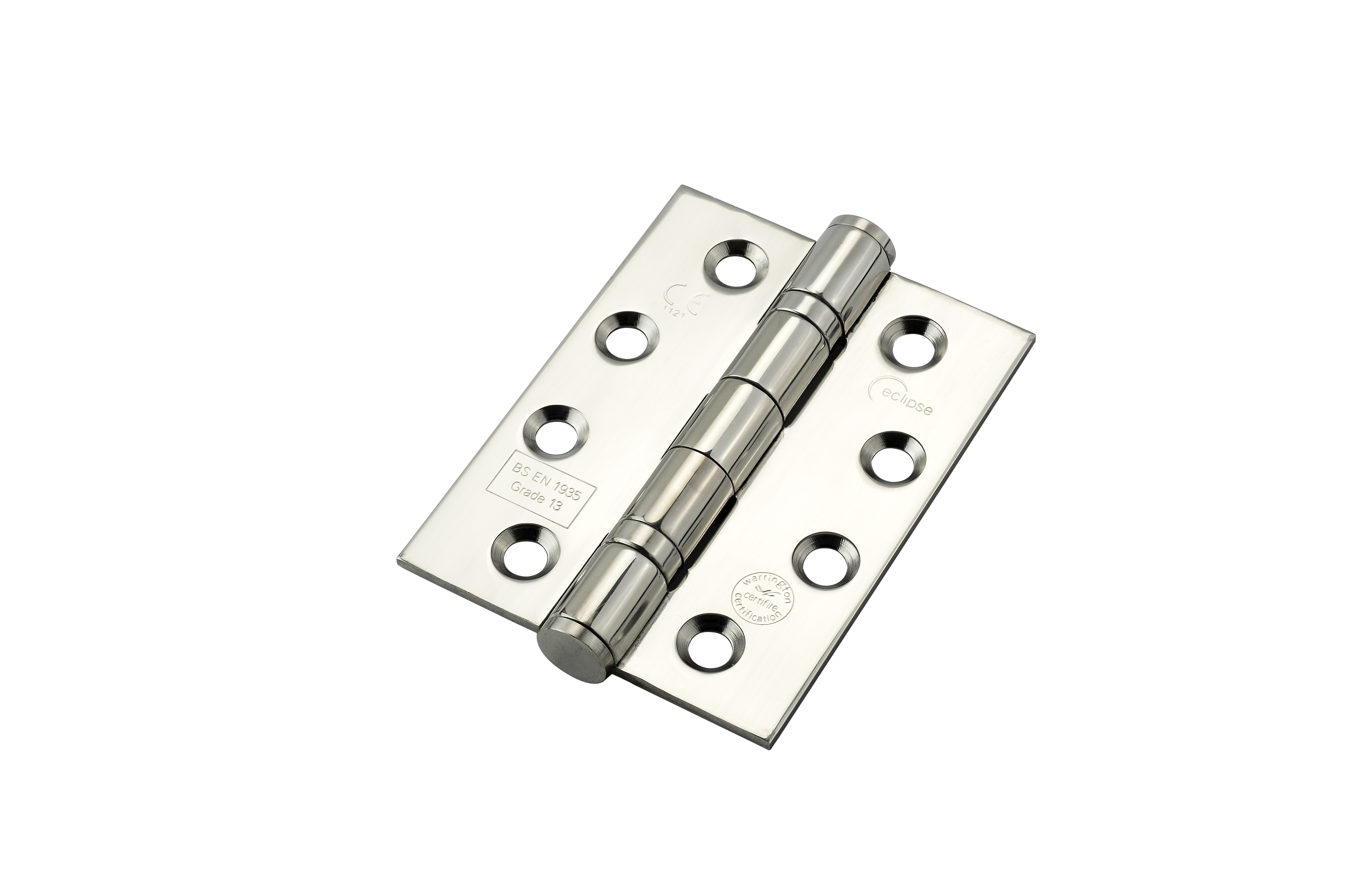 100x75x3mm PSS Ball Bearing Hinge BS EN1935 Grade 13