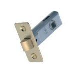 Contract Tubular Latch Electro Brassed 63mm