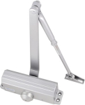 Door Closer Silver Finish Tested to EN1154 Size 3