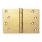 102x151x5mm Polished Brass DPBW Projection Hinge