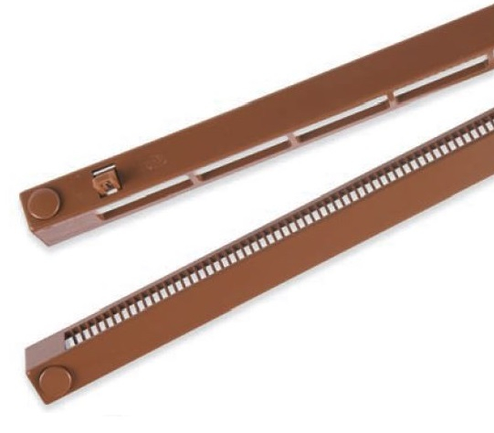 S Type Slotvent Complete -B Control Brown 400x22mm