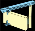 Bifold kit for opening width up to 2135mm for 4 leaves
