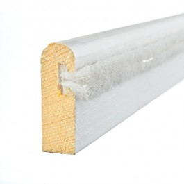 Primed Timber Parting Bead c/w Brush 3m - 25mm o/a x 8mm