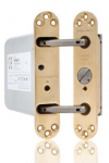 Perko-Powermatic Pol Brass Door Closer