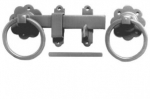 7inch No.1136 Plain Ring Handled Gate Latch Galv'd