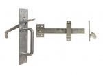 No.50/4S Heavy Suffolk Latch STD Thumb Piece 75mm Galv'd
