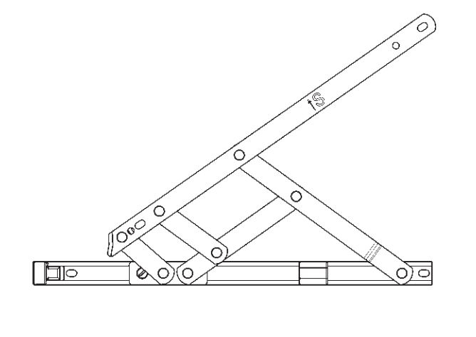 20inch Defender Friction Hinge Top Hung