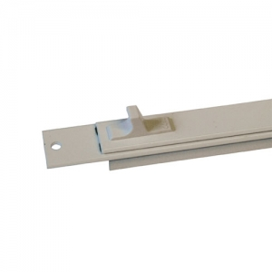 White Aluminium Vent 250mm TV90 1300EA