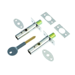 Yale Door Security Bolt Chrome (pack of 2) CH