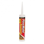 White Fire Mate Intumescent Sealant