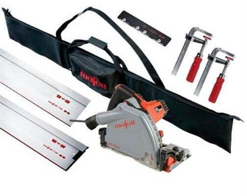 Mafell MT55CC Plunge Saw Kit 240V + Rails Clamps Conn&Bag