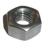 M4 BZP Hex Full Nuts