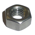 M6 BZP Hex Full Nuts