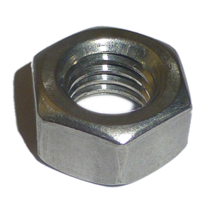 M12 BZP Hex Full Nuts