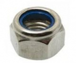 M6 BZP Nylon Insert Nuts - Type T