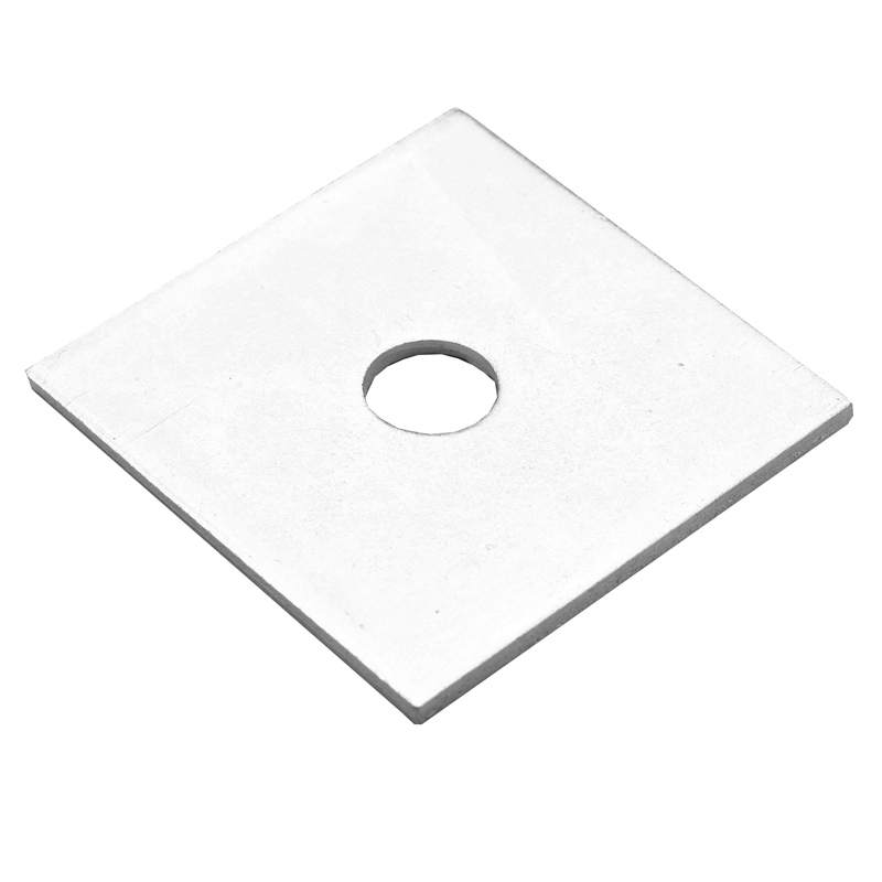 M10x50x3 BZP Square Plate Washers