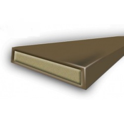 FIRESEAL Brown 10x4x2100mm CERTIFIRE APPROVAL 30MIN RATI