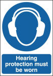 A5 HEARING PROTECTION MUST BE WORN